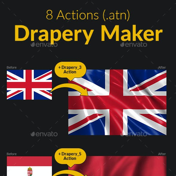 Flag Drapery Maker