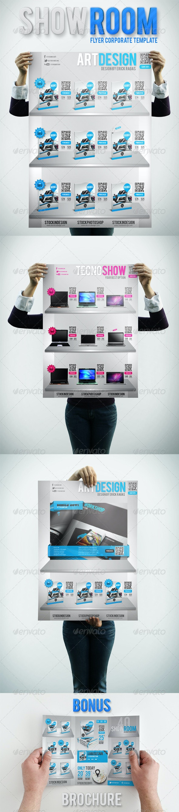 ShowRoom Flyer Corporate Products - Corporate Flyers