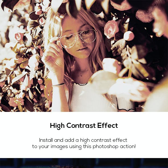 High Contrast Effect Action