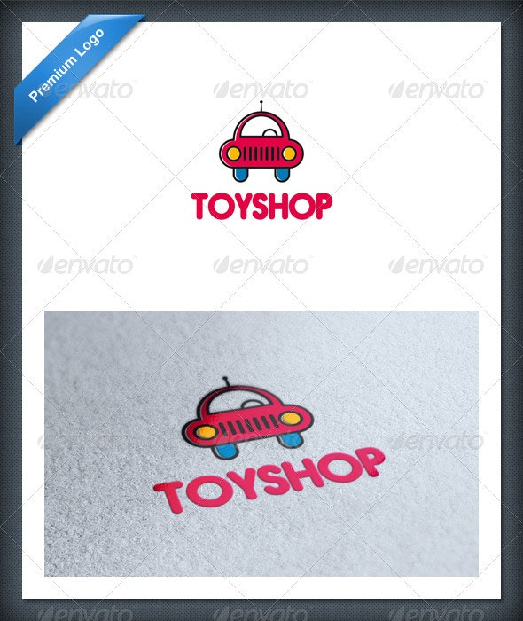 Car Toy Logo Template - Objects Logo Templates