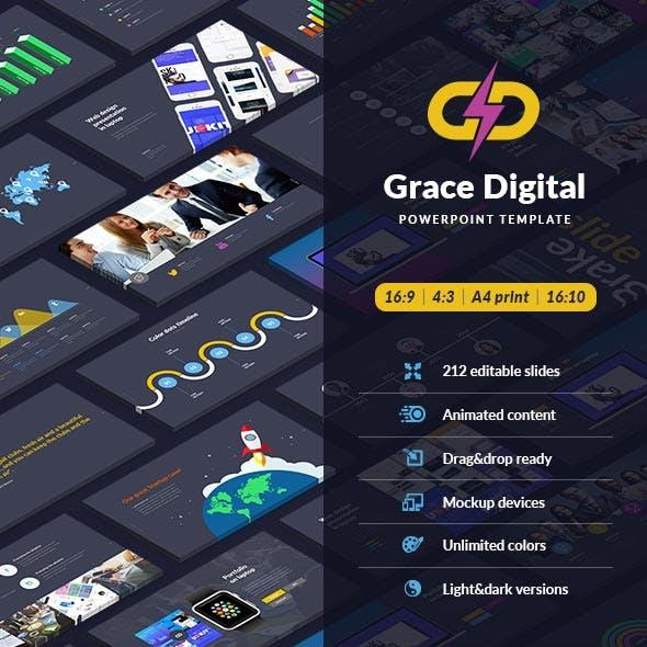 Grace Digital - Powerpoint template