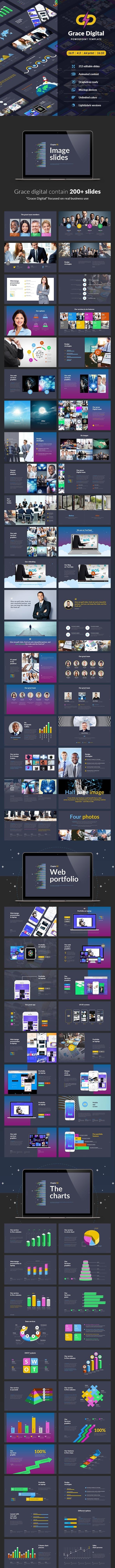 Grace Digital - Powerpoint template - Business PowerPoint Templates
