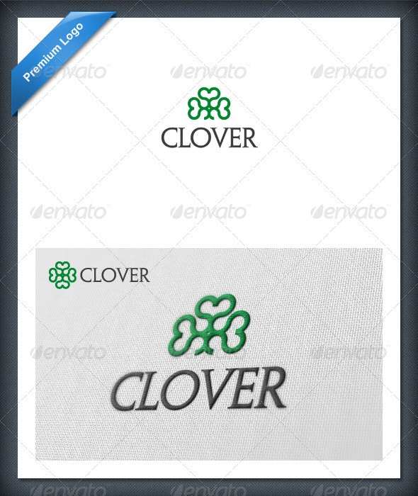 Clover Logo Template - Nature Logo Templates