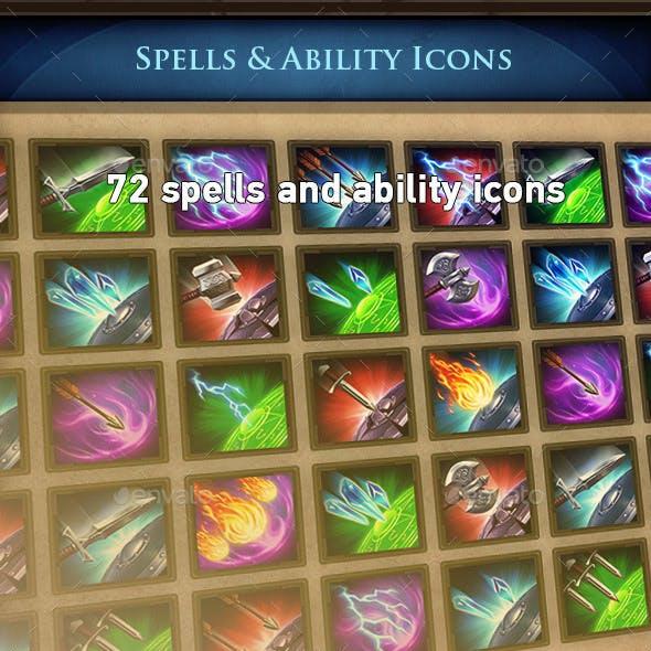 RPG Spells Icons