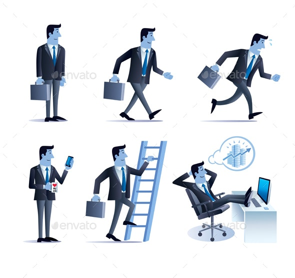 Business Man Poses - Concepts Business