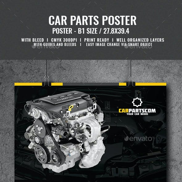 Car Parts Services Poster