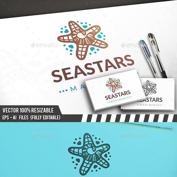 Sea Star Logo Template