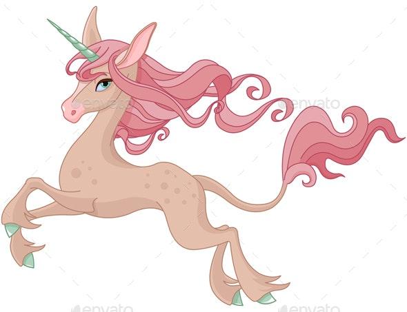 Magic Unicorn - Characters Vectors