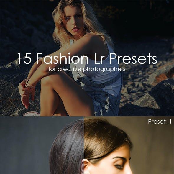 15 Fashion Lr Presets