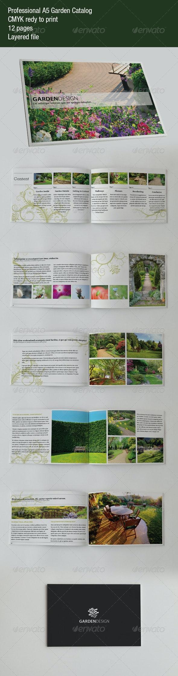 Garden Catalog - Corporate Brochures