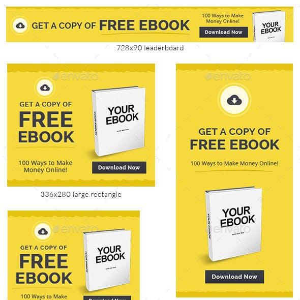 Cheap Ebook Banner Template
