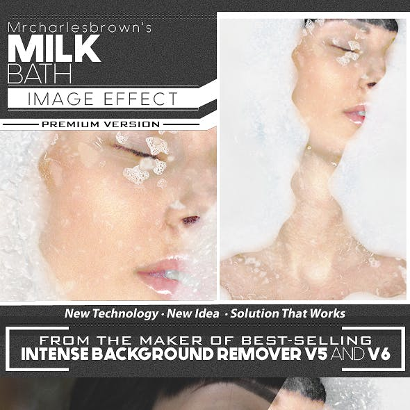 Milk Bath Image Effect