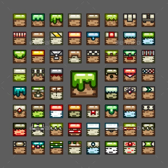 2D Tiles for Creating Video Games