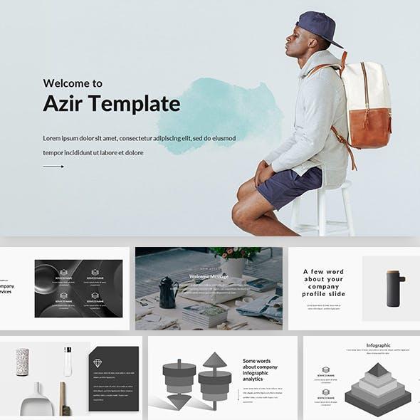 Azir - Creative Google Slide Template