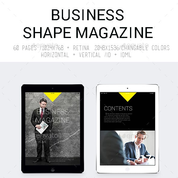 Ipad&Tablet Business Shape Magazine
