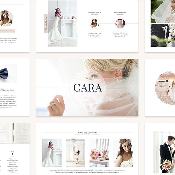 Cara Keynote Template