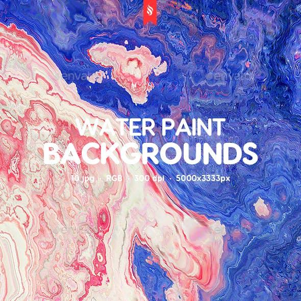 Water Paint Backgrounds