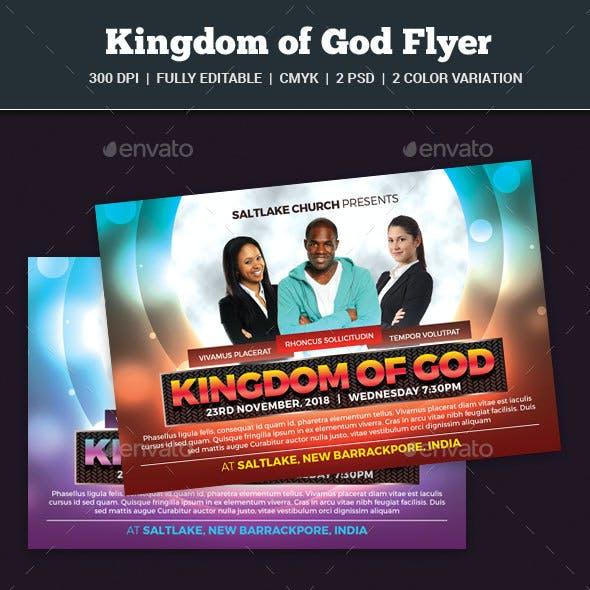 Kingdom of God Flyer