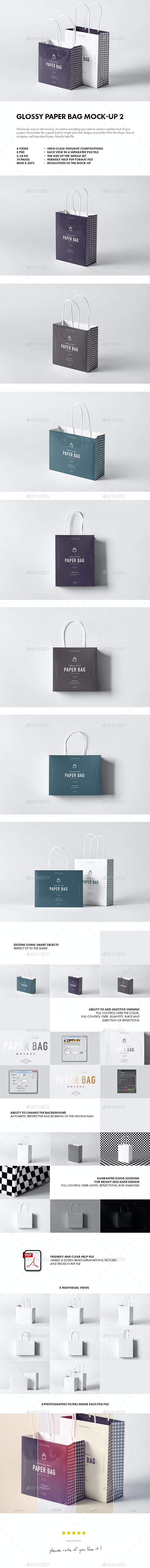 Paper Bag Mock-up 2 - Miscellaneous Packaging