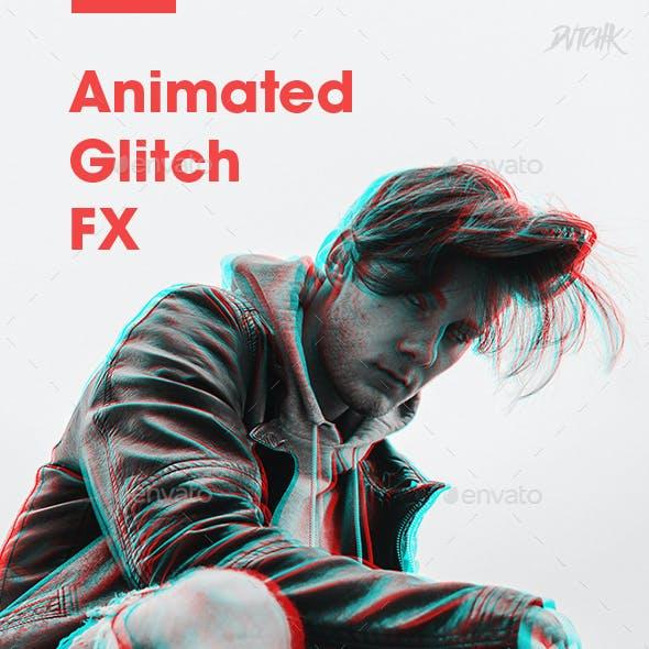 Animated Glitch FX - Vol. 01