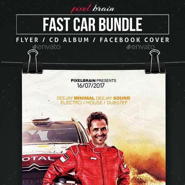 Fast Car Template Bundle
