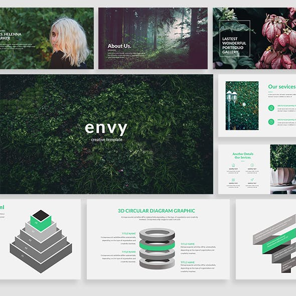Envy - Creative Powerpoint Template