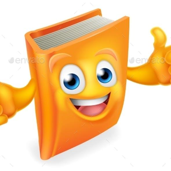 Book Cartoon Character