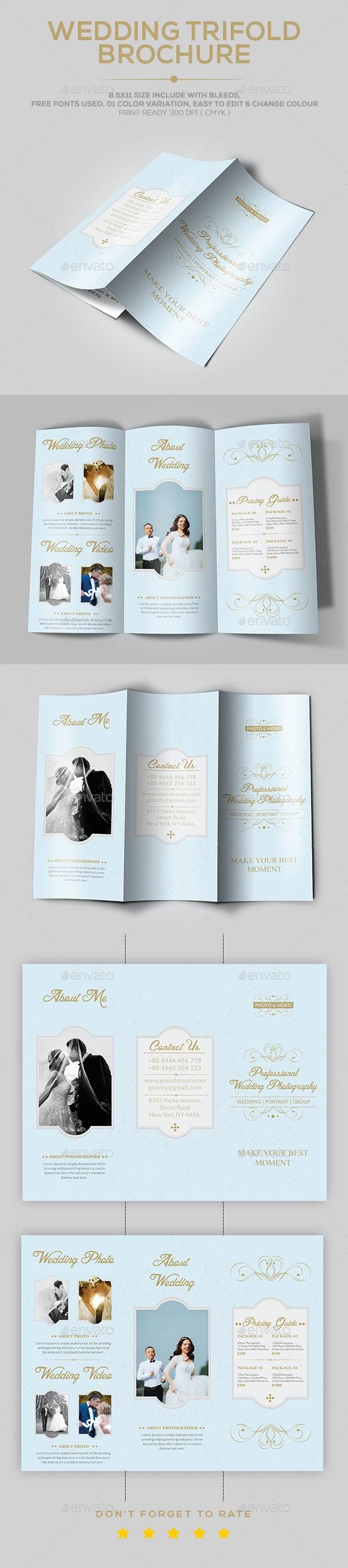 Wedding Brochure template - Portfolio Brochures