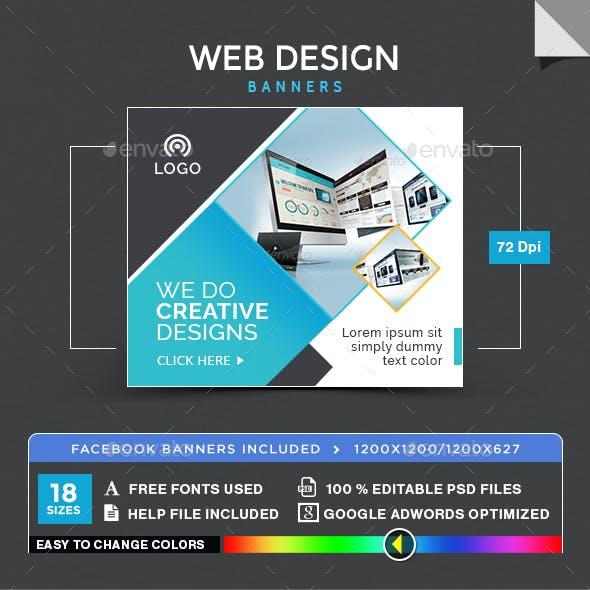 Web Design Banners