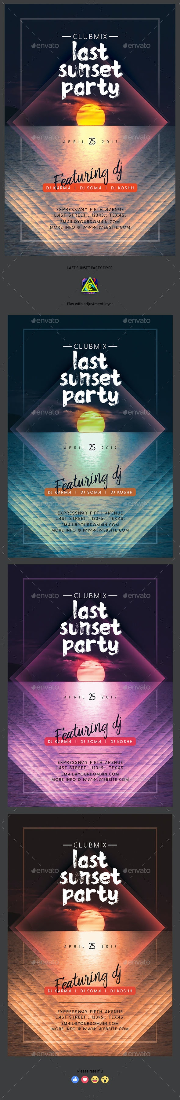 Last Sunset Party - Clubs & Parties Events