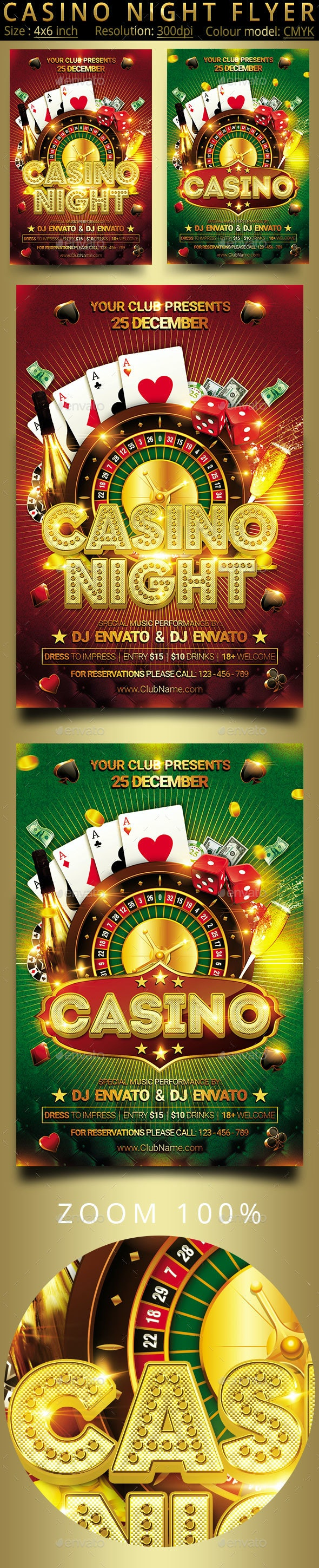 Casino - Clubs & Parties Events