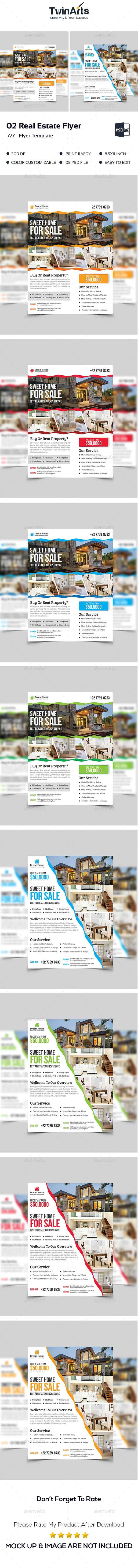 02 Real Estate Flyer - Flyers Print Templates