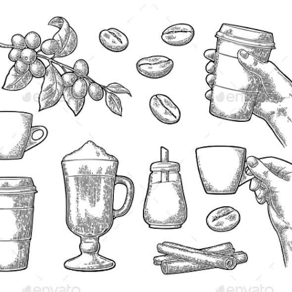 Set of Coffee