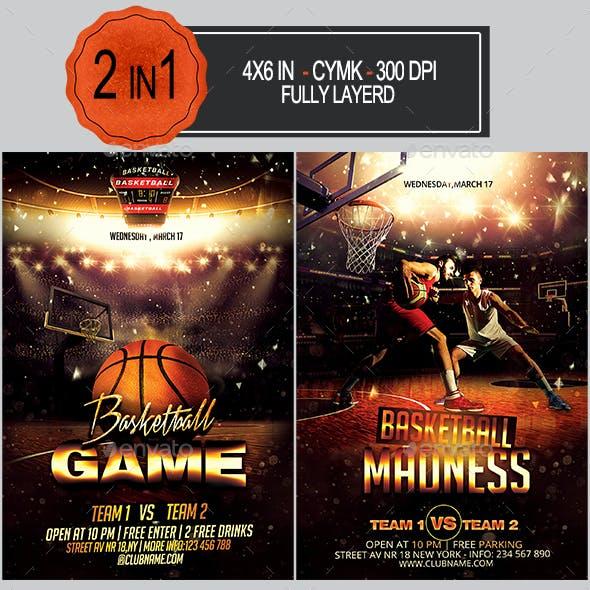 Basketball Flyer Bundle