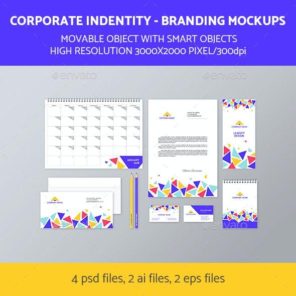 Branding Identity Mock-Up Set 3