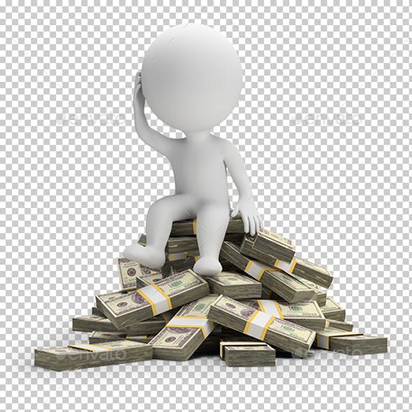 3D Small People - How to Spend Money