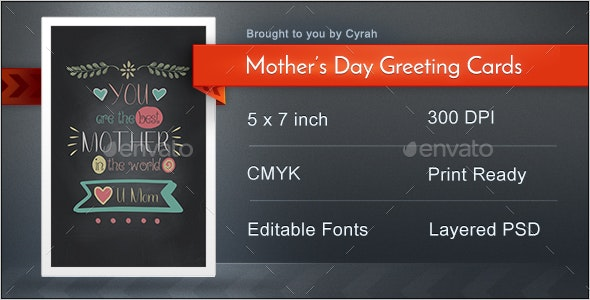 Typographic Mothers Day Greeting Cards - Greeting Cards Cards & Invites