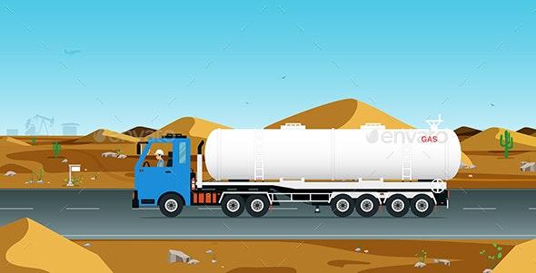 Gas Truck - Industries Business