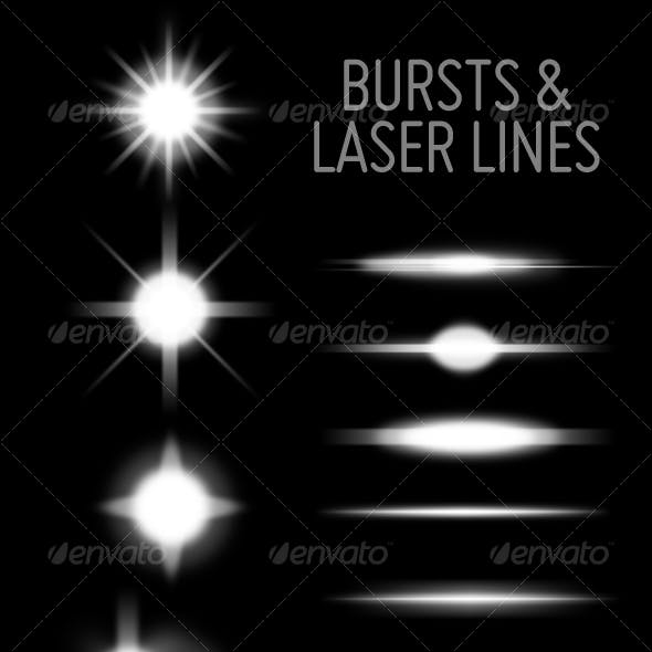 Burst and Laser Line Collection