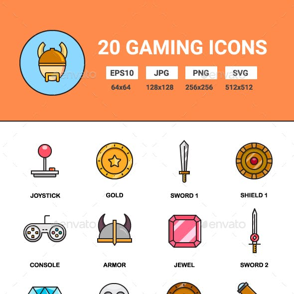 20 Gaming icons
