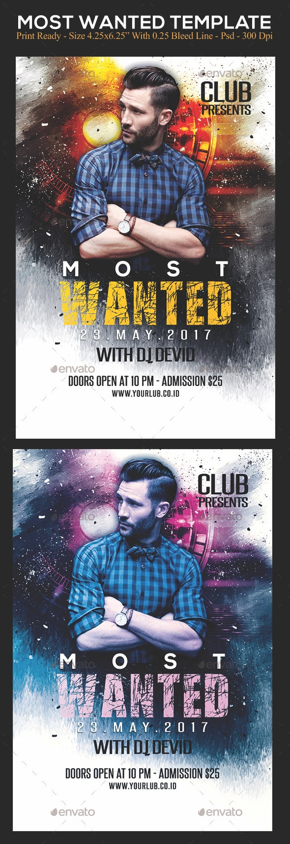 Most Wanted - Clubs & Parties Events
