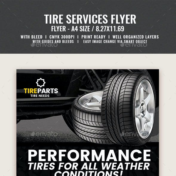 Tire Service Flyer