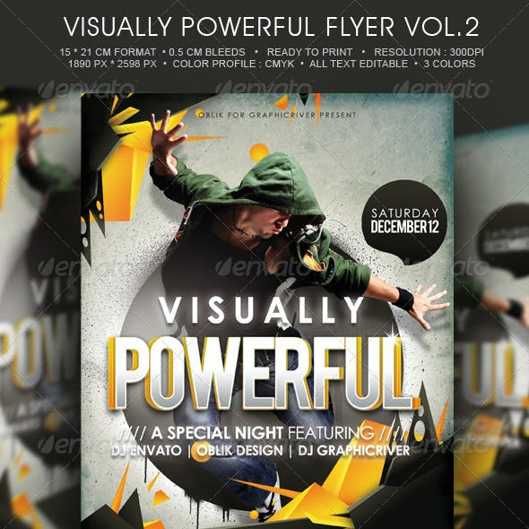 Visualy Powerful Template Flyer Vol.2