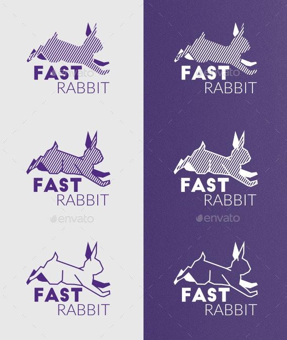 Rabbit Creative Logo Template - Logo Templates