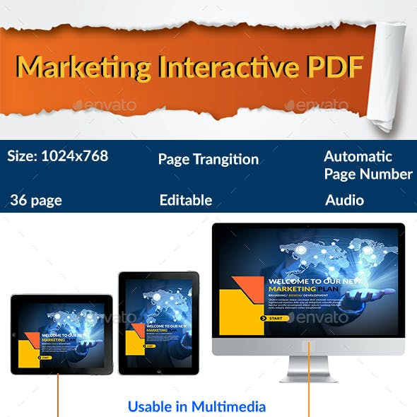 Marketing Plan Interactive PDF
