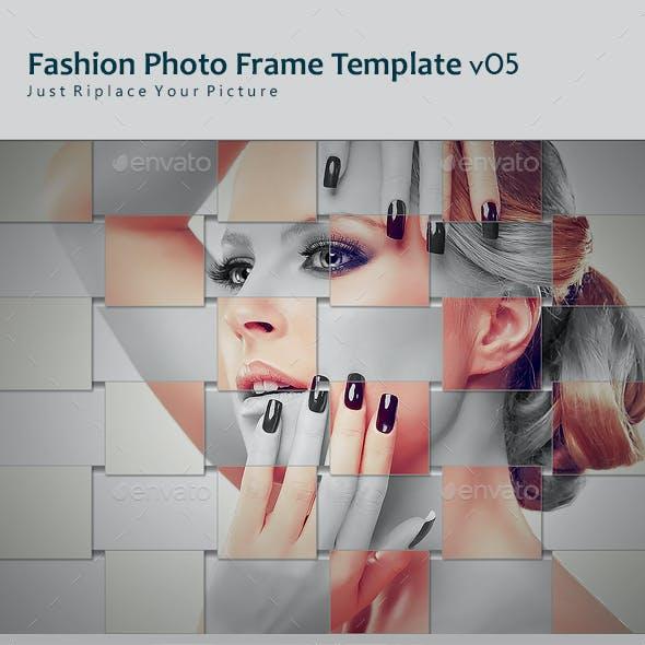 Fashion Photo Frame Template v05
