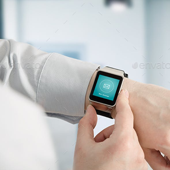 Smartwatch Mockup Real Photo