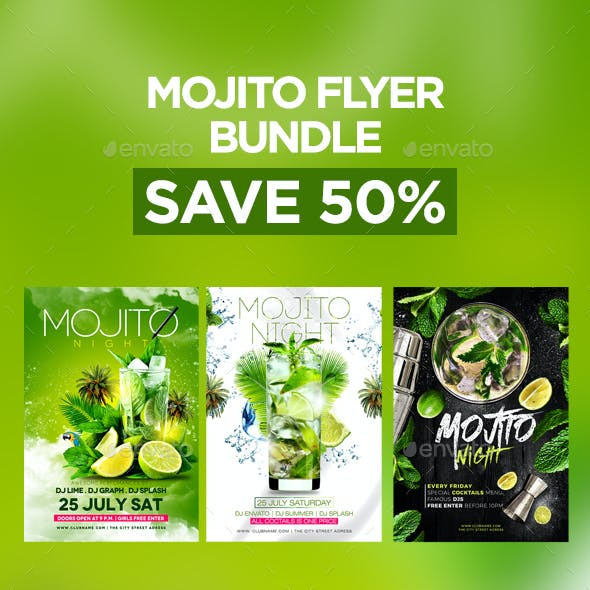 Mojito Flyer Bundle