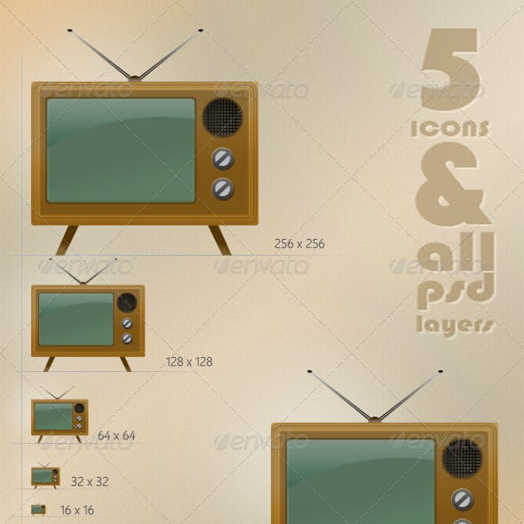 Classic TV Icon