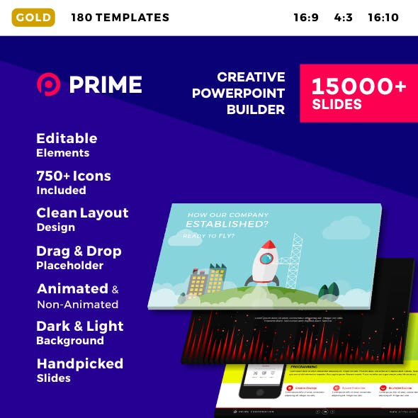 Prime - Creative PowerPoint Builder
